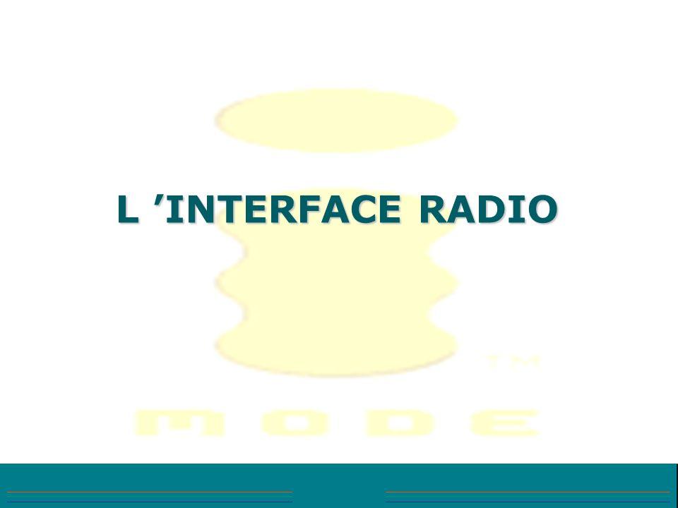 L INTERFACE RADIO