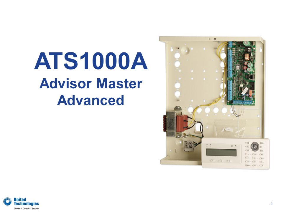 1 ATS1000A Advisor Master Advanced