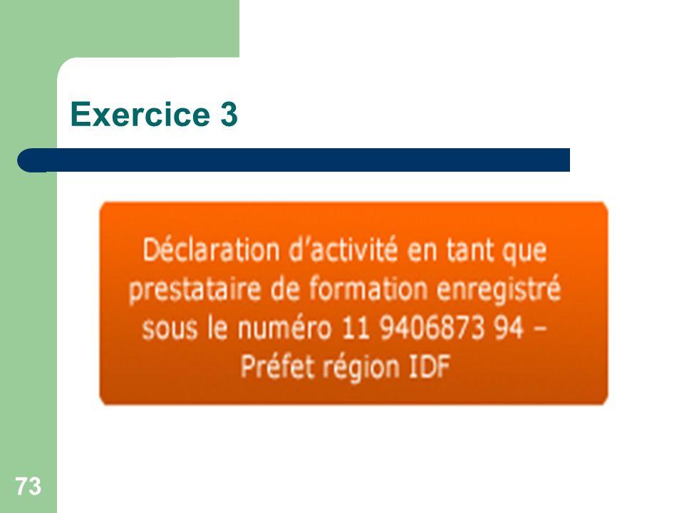 73 Exercice 3