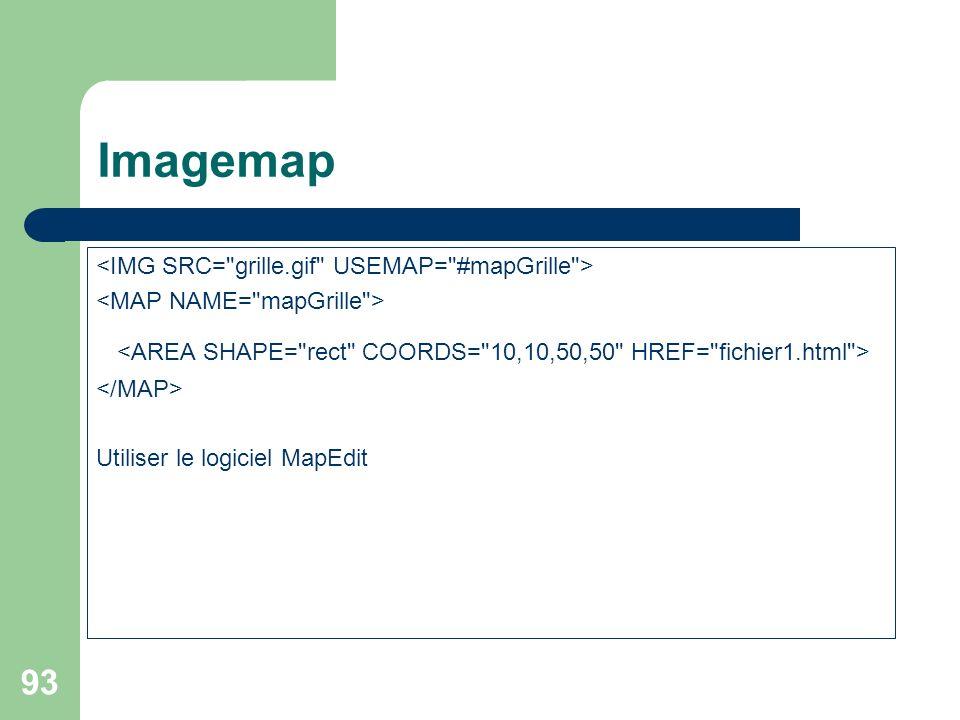 93 Imagemap Utiliser le logiciel MapEdit