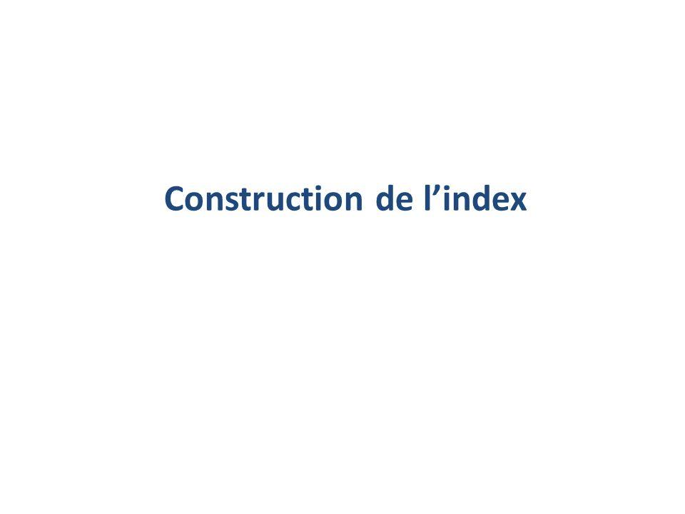 Construction de lindex