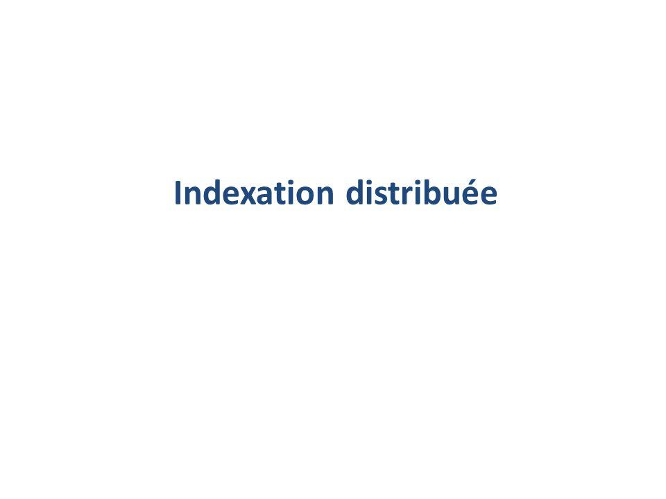 Indexation distribuée