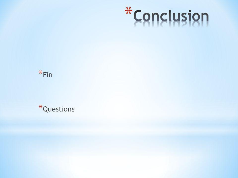 * Fin * Questions