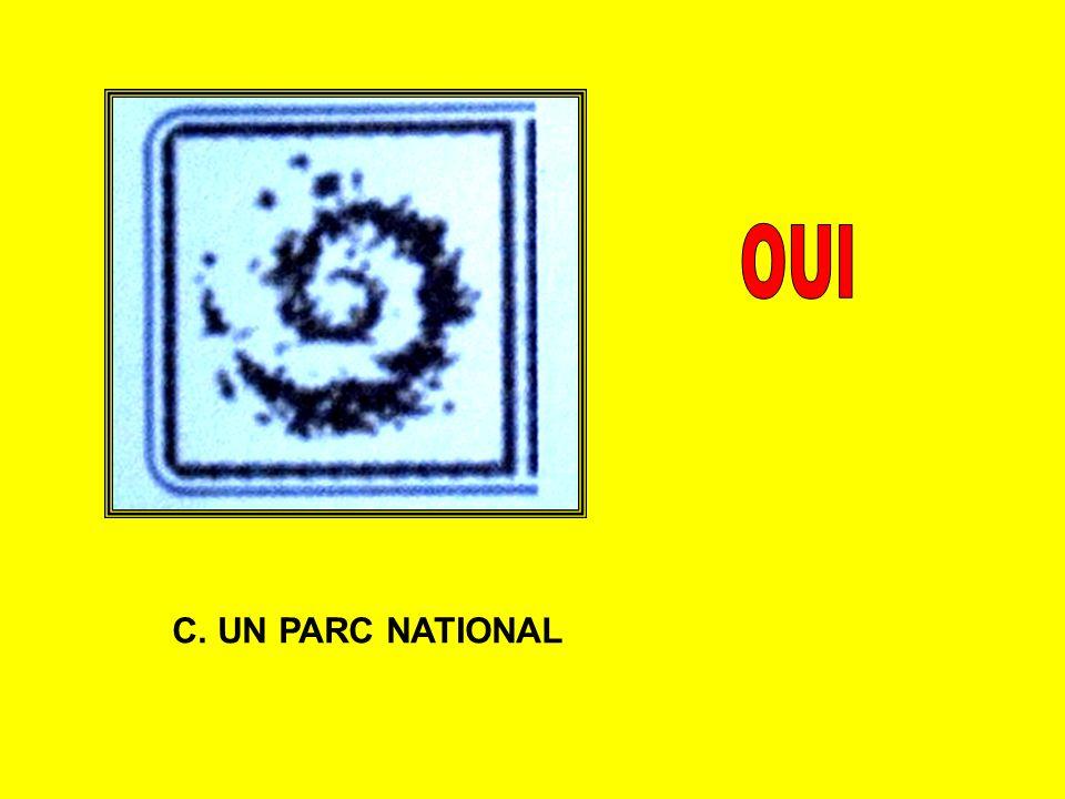 C. UN PARC NATIONAL