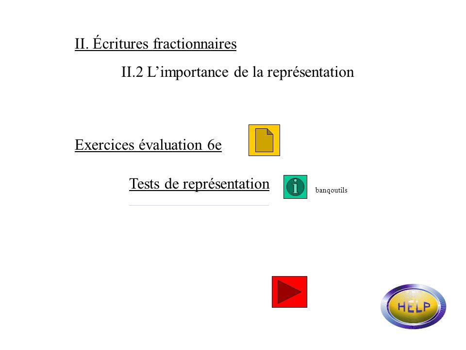 II. Écritures fractionnaires II.1 Compétences au cycle 3 et en 6ème. Grille de vocabulaire : 2ème partievocabulaire2ème partie