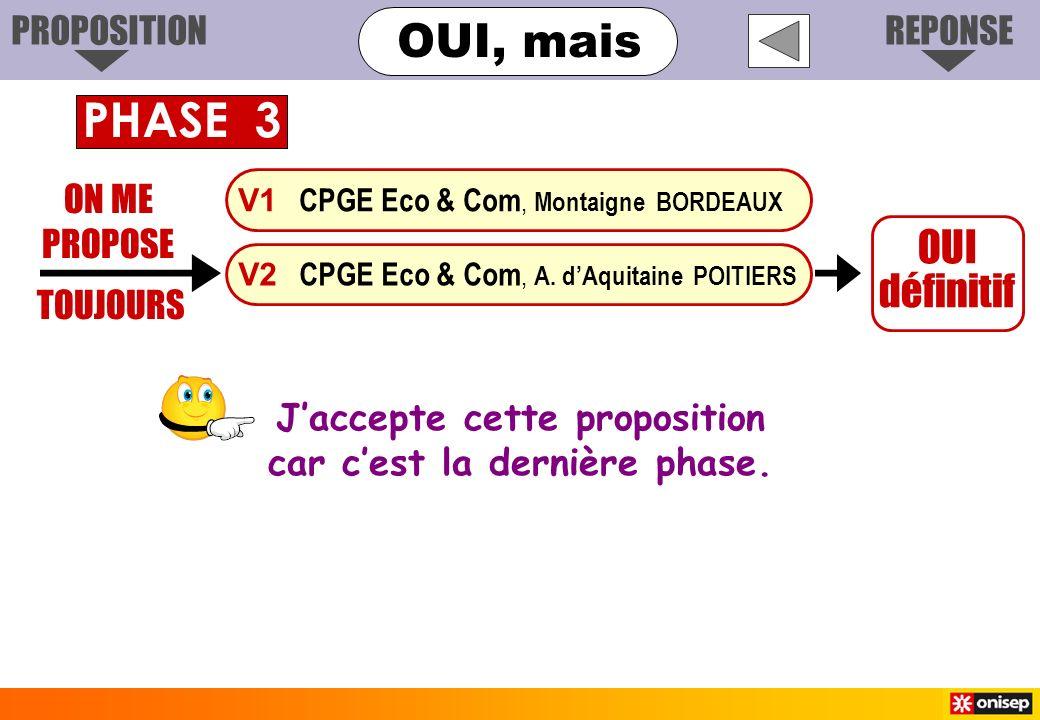 ON ME PROPOSE TOUJOURS OUI définitif V1 CPGE Eco & Com, Montaigne BORDEAUX V2 CPGE Eco & Com, A. dAquitaine POITIERS Jaccepte cette proposition car ce