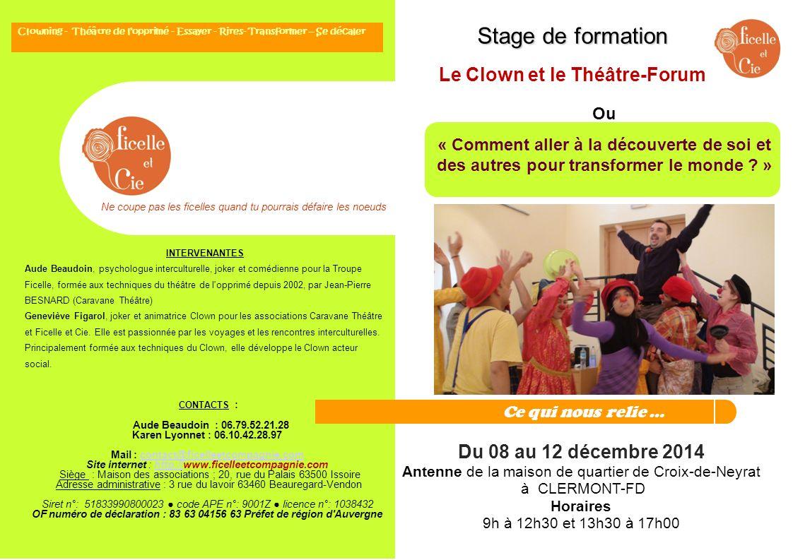 CONTACTS : Aude Beaudoin : 06.79.52.21.28 Karen Lyonnet : 06.10.42.28.97 Mail : contact@ficelleetcompagnie.comcontact@ficelleetcompagnie.com Site inte