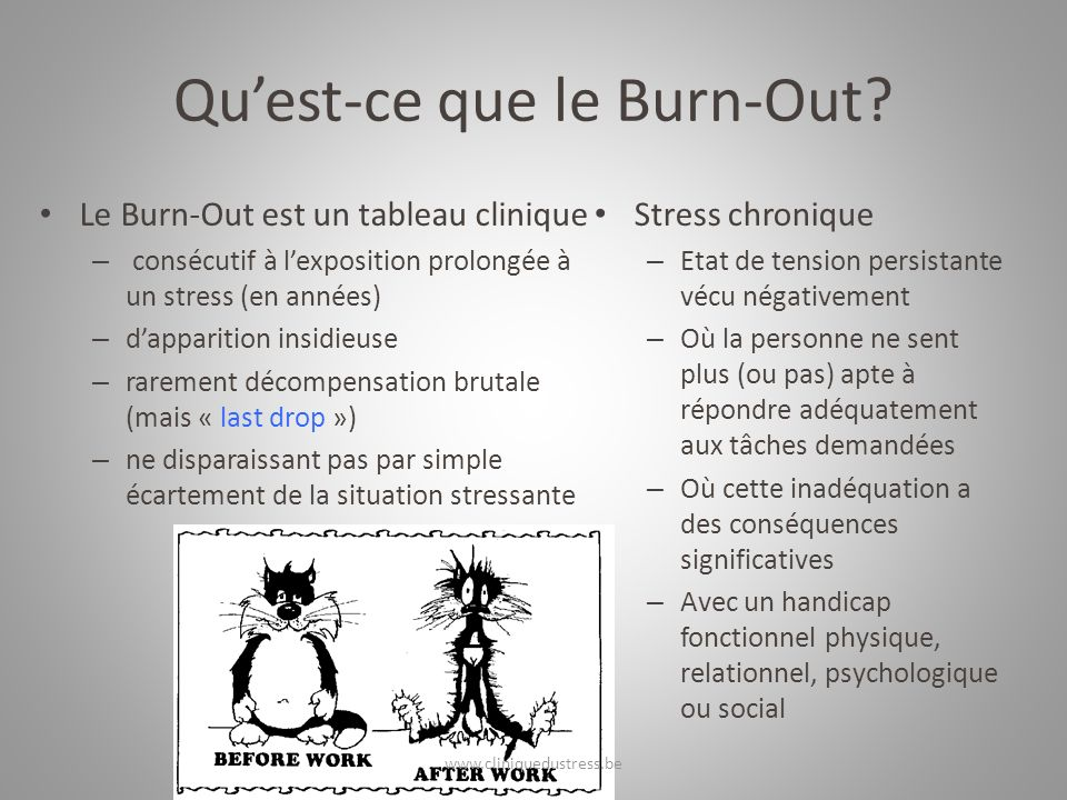 Quest-ce que le Burn-Out.