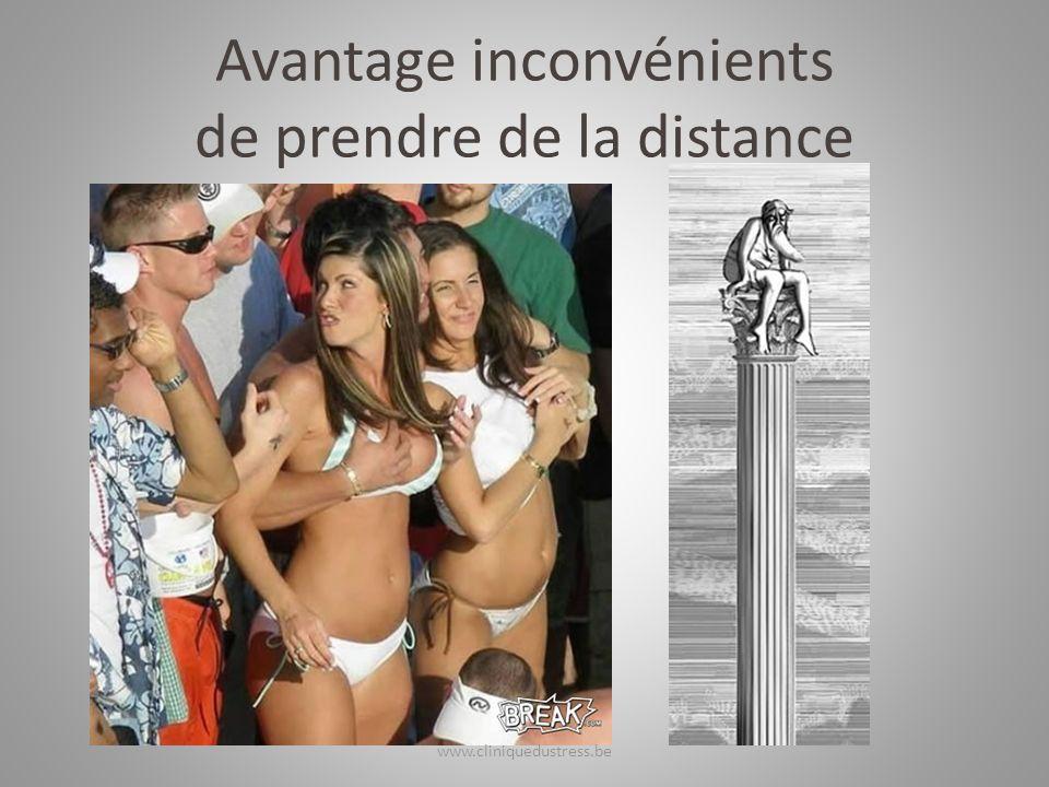 Avantage inconvénients de prendre de la distance www.cliniquedustress.be