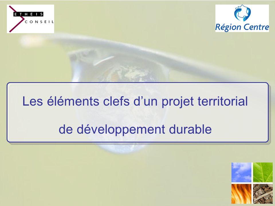 Les éléments clefs dun projet territorial de développement durable