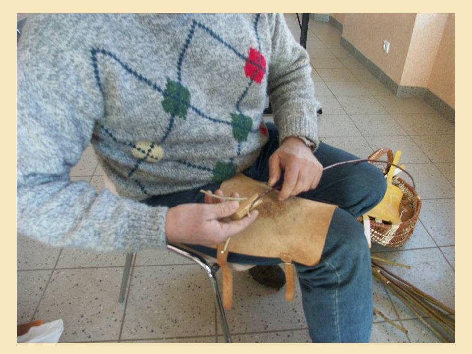 3 1 2 Outil qui permet de fendre losier en 3 brins