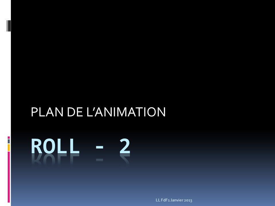 PLAN DE LANIMATION LL FdF1 Janvier 2013