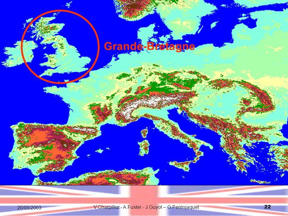V.Charpilloz - A.Fuster - J.Guyot – O.Perrinjaquet22 20/05/2003 Grande-Bretagne