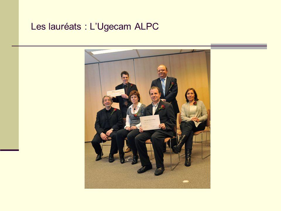 Les lauréats : LUgecam ALPC