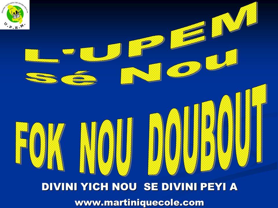 DIVINI YICH NOU SE DIVINI PEYI A www.martiniquecole.com