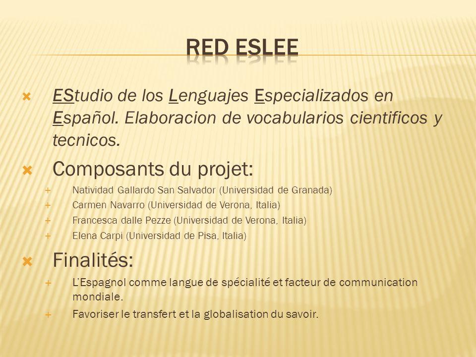 EStudio de los Lenguajes Especializados en Español.