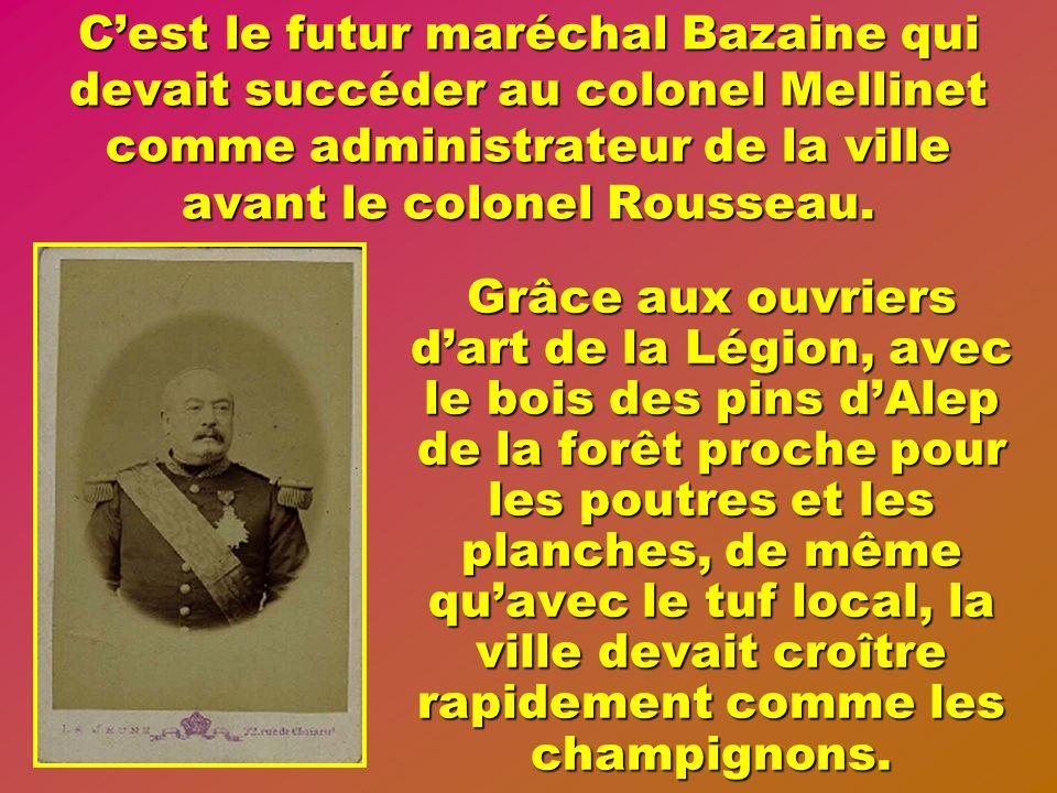 Après Louis Philippe, la seconde République et partiellement sous Napoléon III, la première colonisation des terres fut lœuvre des soldats libérés et leurs familles.