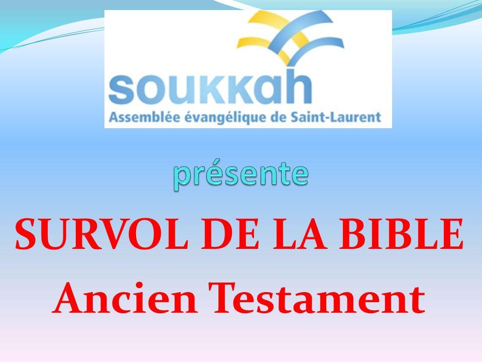 SURVOL DE LA BIBLE Ancien Testament
