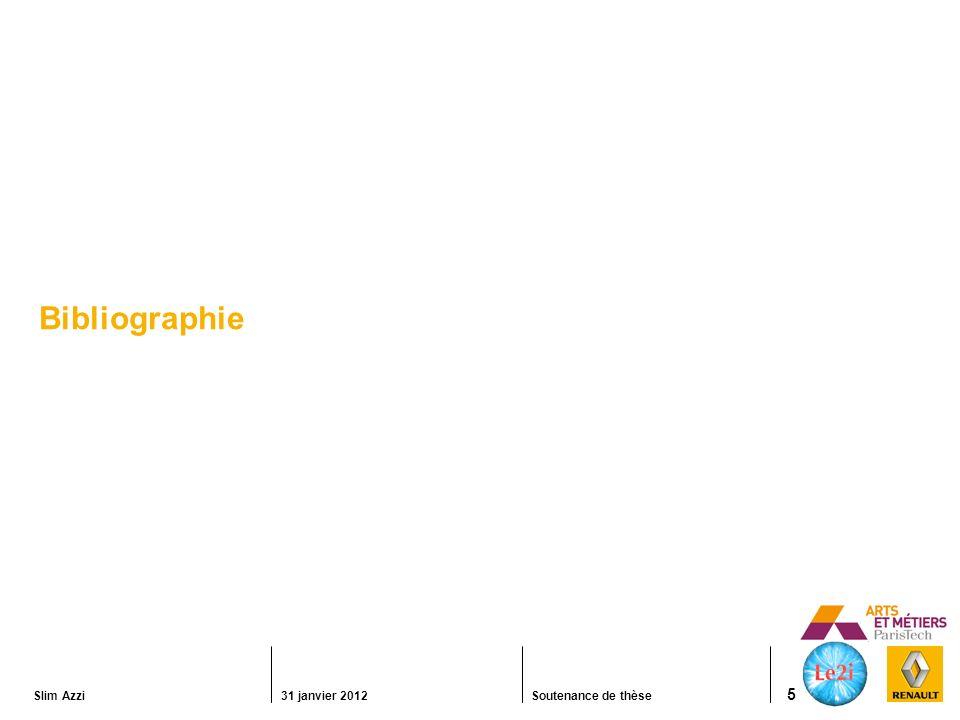 Slim Azzi31 janvier 2012Soutenance de thèse 6 Modalité visuelle Perception visuelle Cristallin Rétine Nerf optique Corps genouillé Cortex visuel Interprétation de la profondeur Convergence et accommodation (distances courtes < 3m) Disparité binoculaire (distances moyennes) Perspective (distances longues) Parallaxe