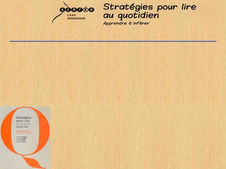 La compréhension en lecture –Les processus de lecture et leurs composantes »Irwin (1986) »J.