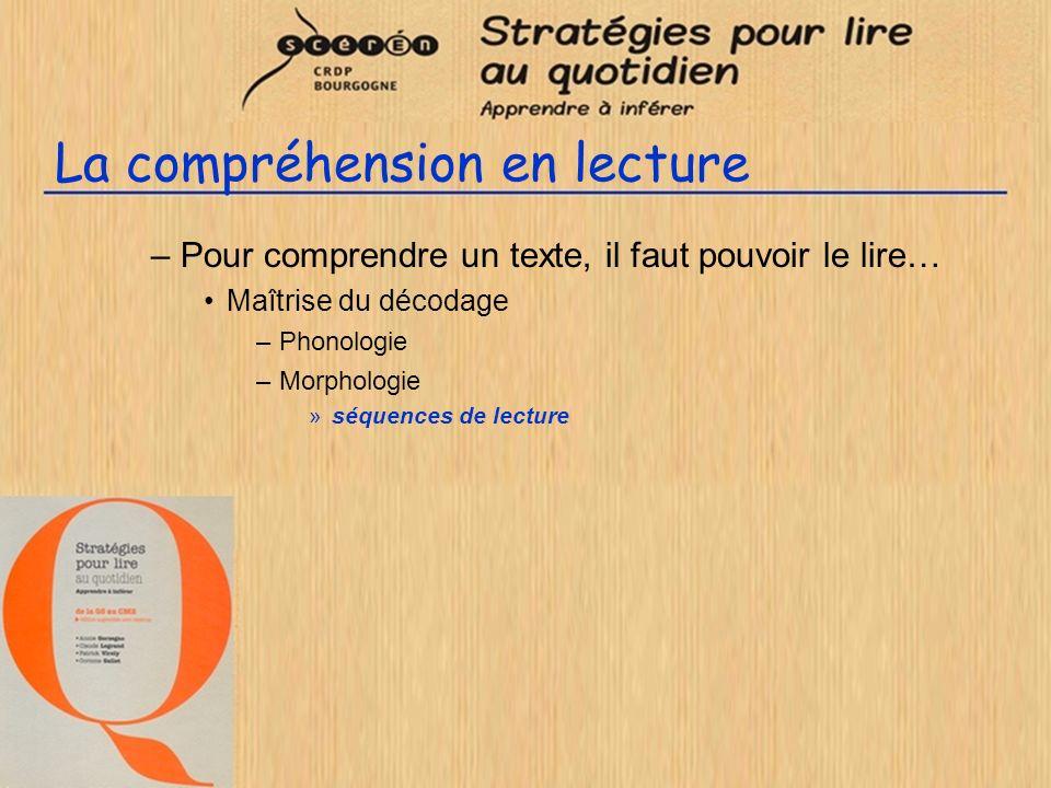 Utilisation du livret : un exemple de leçon CE2 - Leçon 4 - Action L enseignant justifie l inférence L inférence est assez évidente en raison des fixations et de la piste noire.