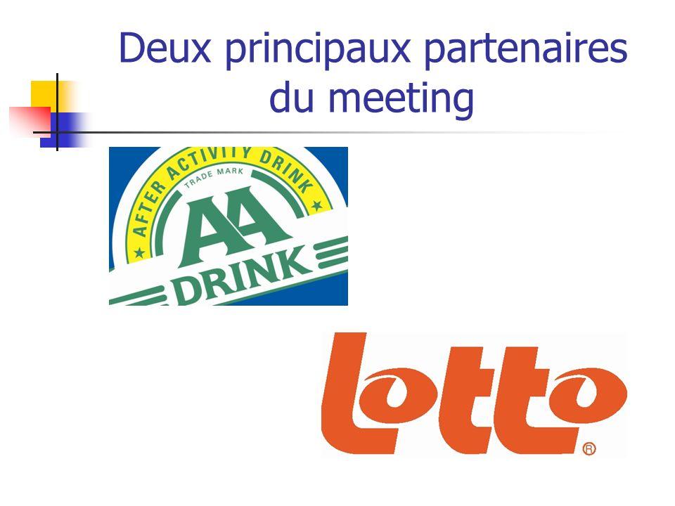Deux principaux partenaires du meeting