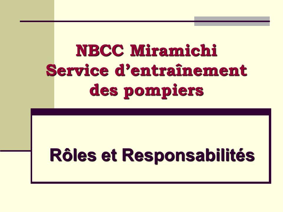 Pour lassistance pédagogique, linstructeur se réfère au conseiller pédagogique du NBCC.