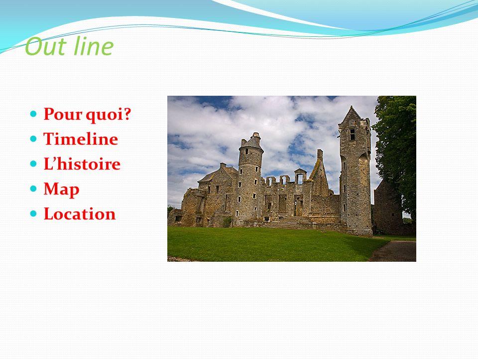 Out line Pour quoi? Timeline Lhistoire Map Location
