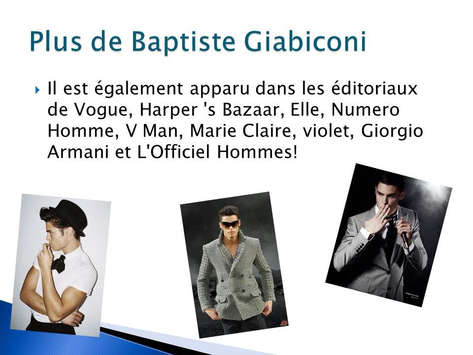 Vincent est un modèle français mâle. En ce moment, il est signé avec Louis Vuitton.
