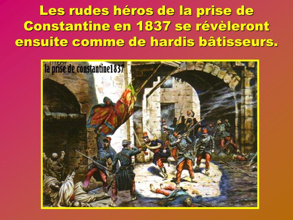 Après avoir créé la Légion Etrangère en 1831 Louis Philippe roi des Français accentue la politique de colonisation de peuplement de lAlgérie, et lhist