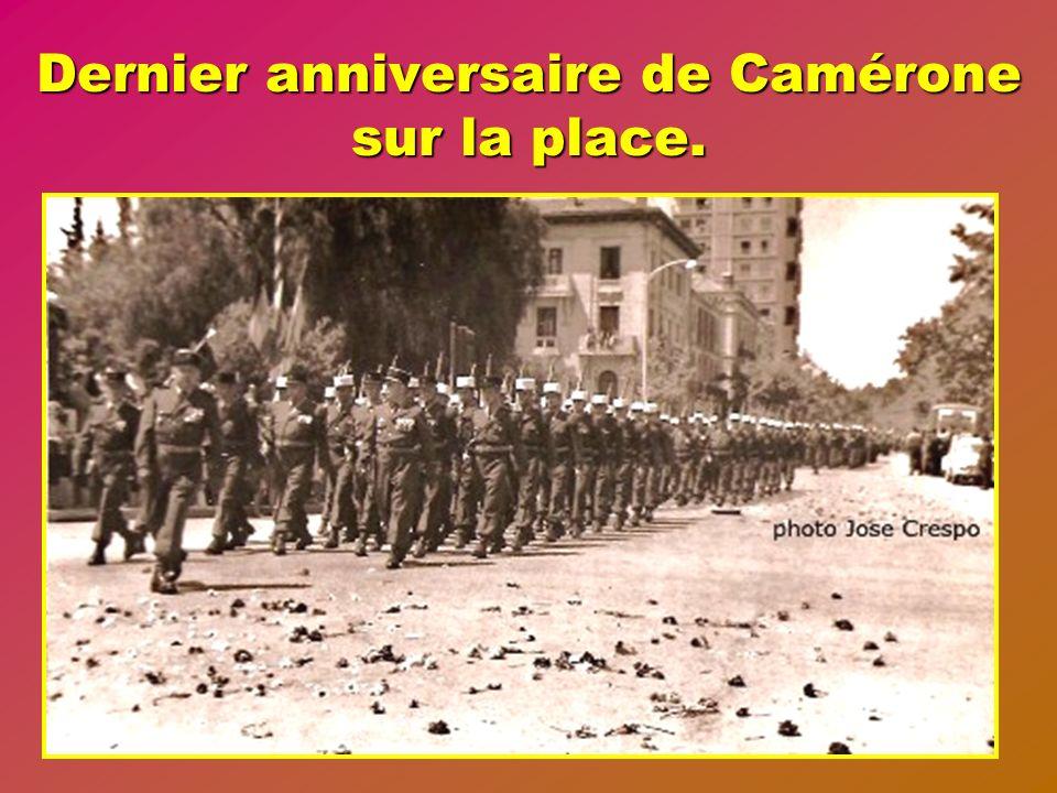1962 Cruauté de lhistoire, après plus dun siècle de réussites et de victoires il faut tout démonter et partir vers Aubagne.
