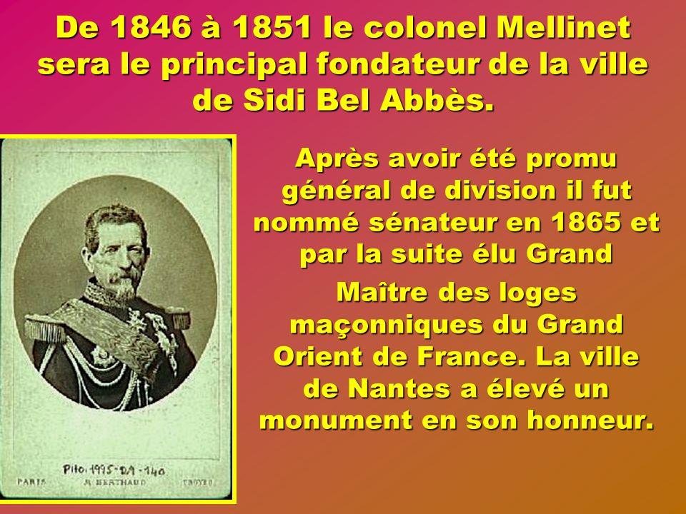Après 1845 les lointains prédécesseurs de ces jeunes sapeurs de la Légion Etrangère, et leurs compagnons darmes obéissant au général Bedeau, avaient d