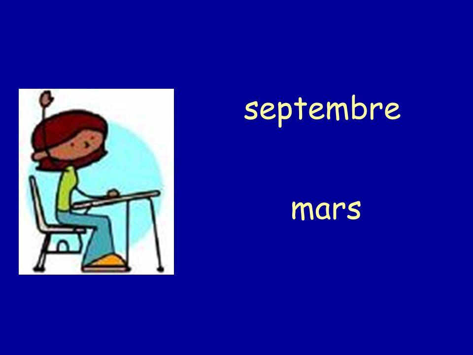 septembre mars