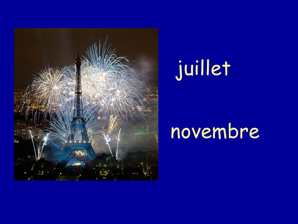 juillet novembre