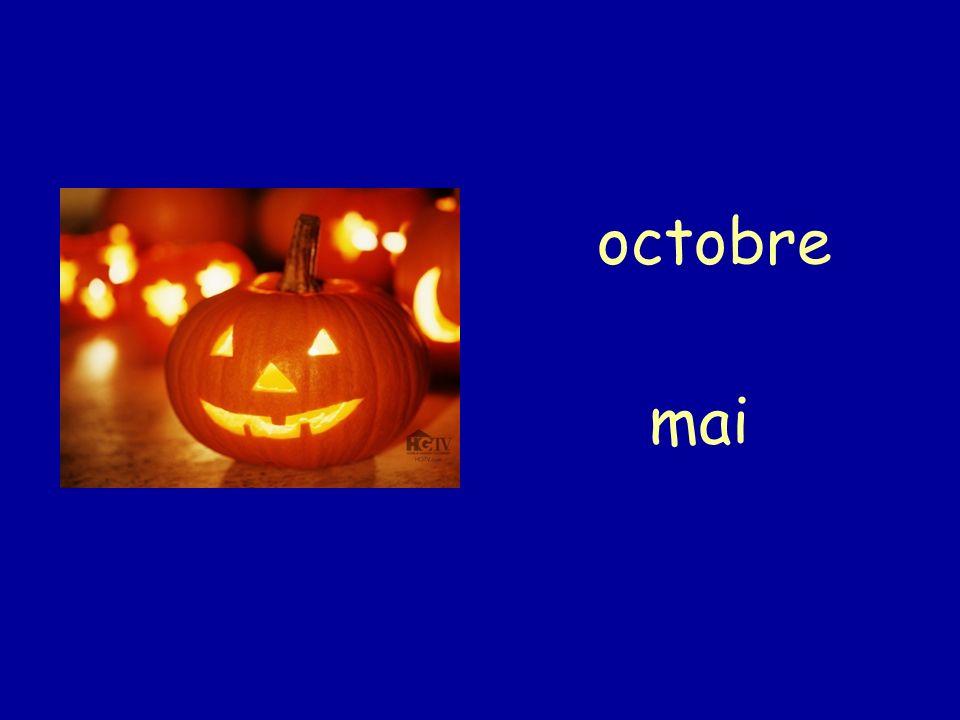 octobre mai