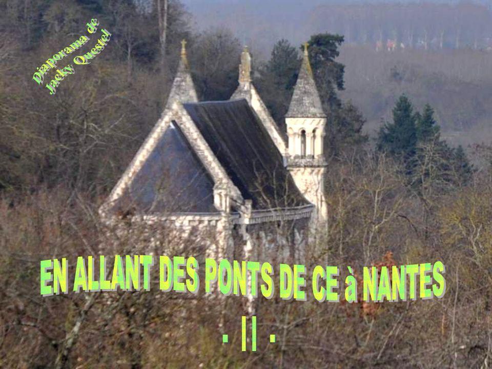 La Loire, majestueuse, débonnaire, nous accompagnera jusquà Nantes.