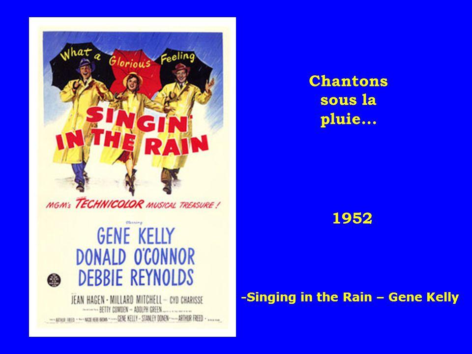 1952 Chantons sous la pluie... -Singing in the Rain – Gene Kelly