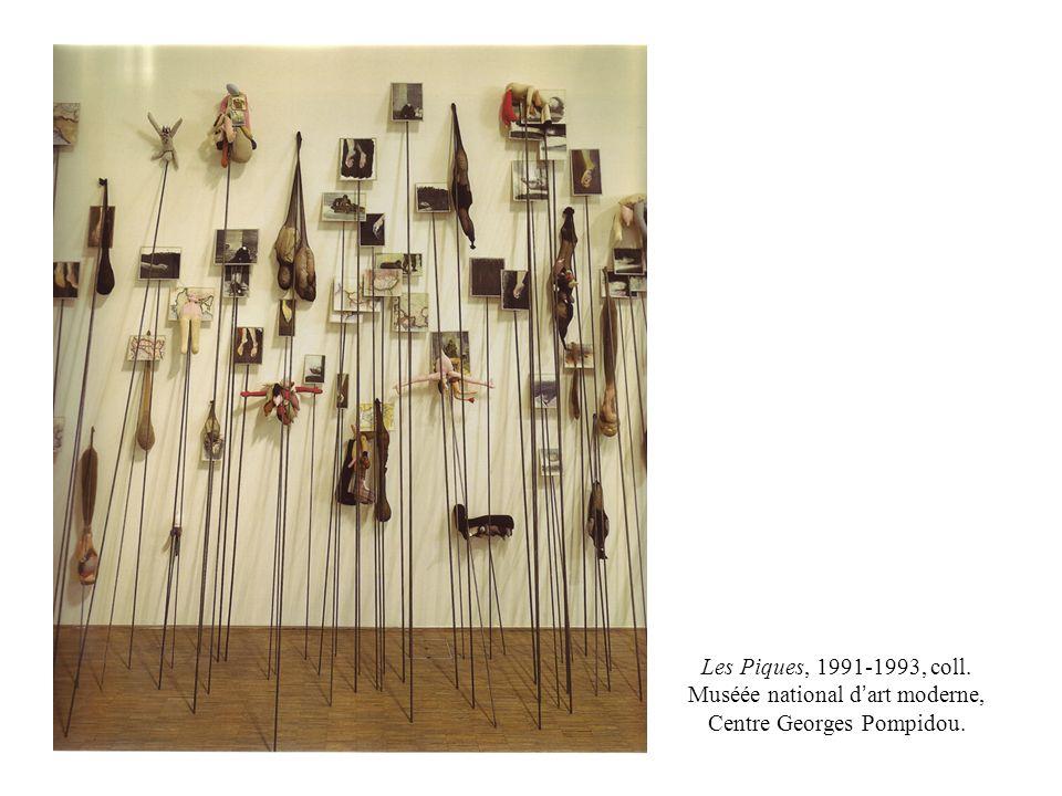 Les Piques, 1991-1993, coll. Muséée national d art moderne, Centre Georges Pompidou.
