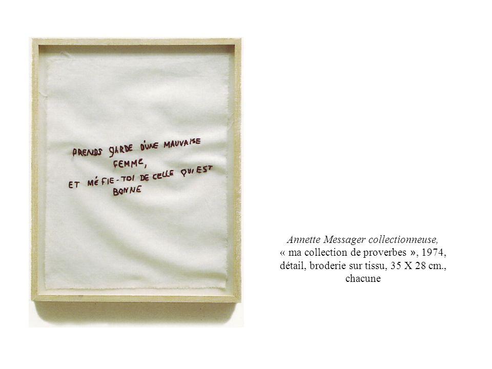 Le bonheur illustré, 1975-1976, détail, crayons de couleur, chaque dessin 38 X 46 cm., Exposition au musée de Grenoble, 1989-1990