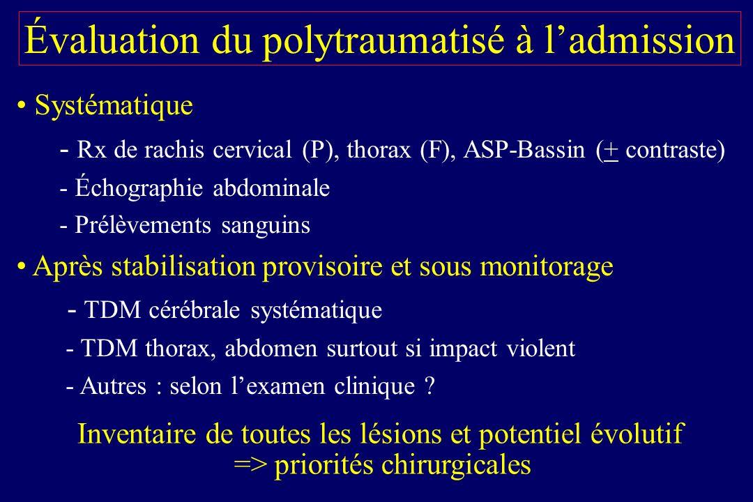 Trabold F, Orliaguet G. Intensive Care Med 2003 25 cm/s 1.31 DTC précoce et pronostic du TC chez lenfant