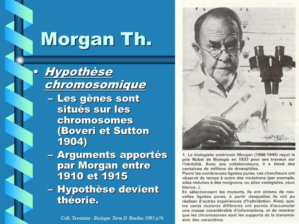 Morgan Th.