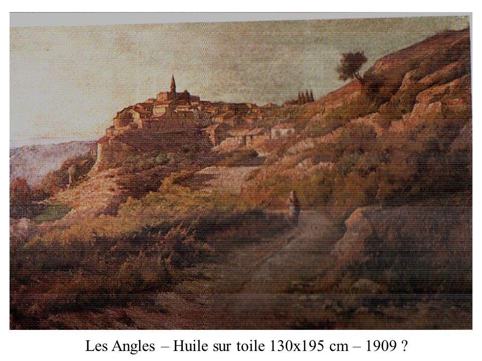 Les Angles – Huile sur toile 130x195 cm – 1909 ?