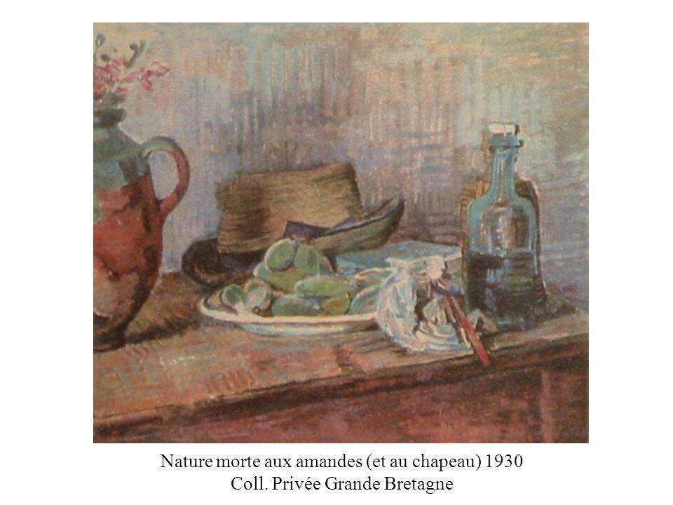 Nature morte aux amandes (et au chapeau) 1930 Coll. Privée Grande Bretagne