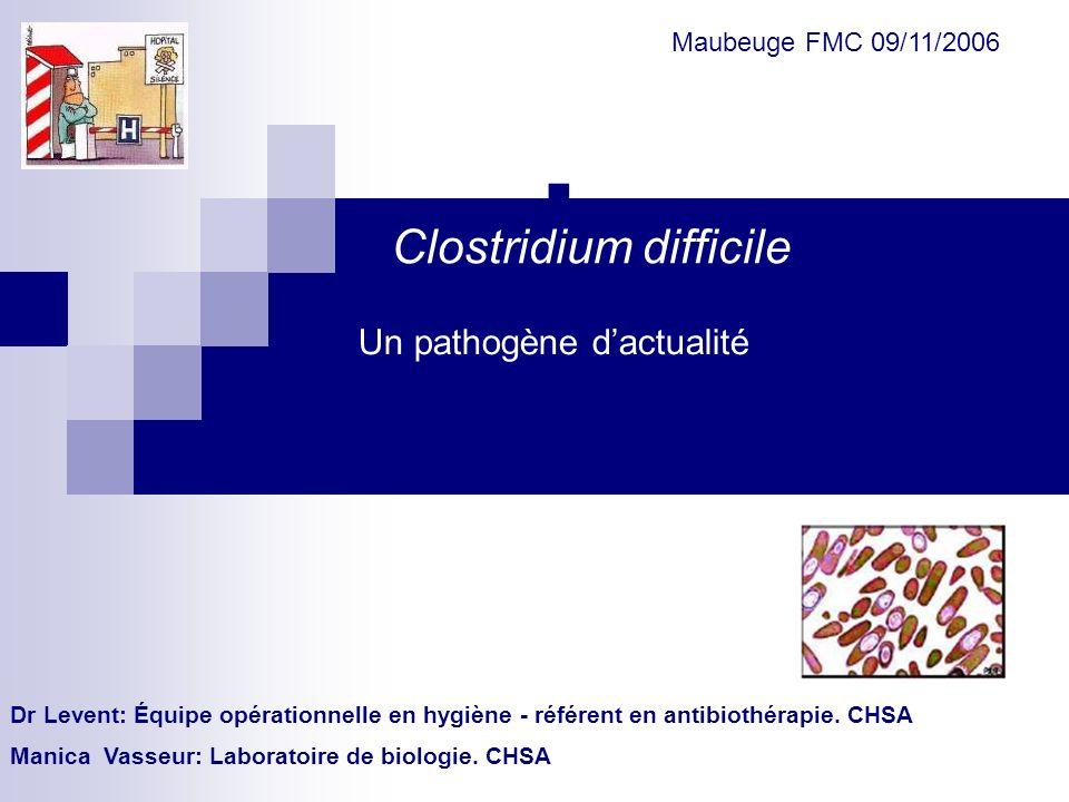 Sensibilité de C.difficile aux antibiotiques (4) Chromosomique transférable (altération du ribosome) Chromosomique transférable (modification du ribosome) Inactivation enzymatique Macrolides Tétracyclines Chloramphénicol Mécanismes de résistanceAntibiotiques Mécanismes et supports génétiques des résistances