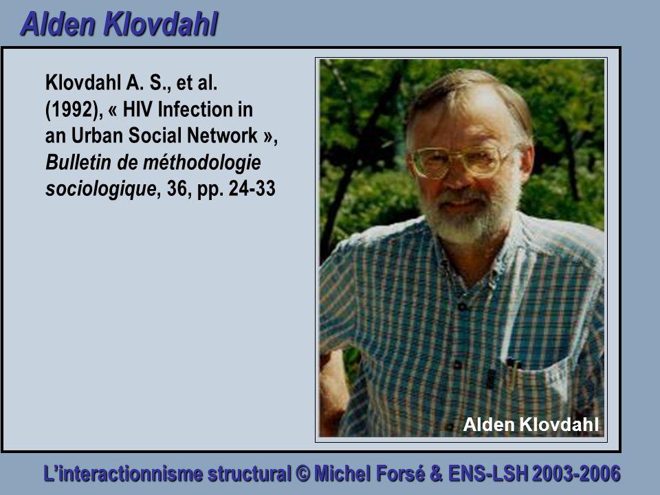 Linteractionnisme structural © Michel Forsé & ENS-LSH 2003-2006 Le holisme 1.La structure prime lindividu.