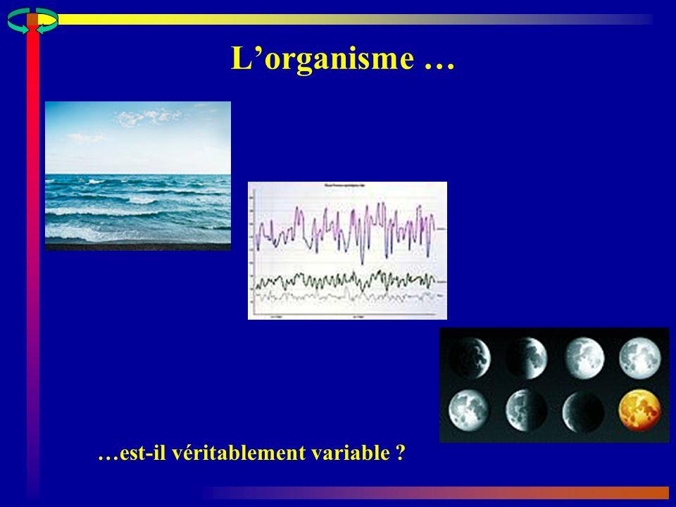 Lorganisme … …est-il véritablement variable ?