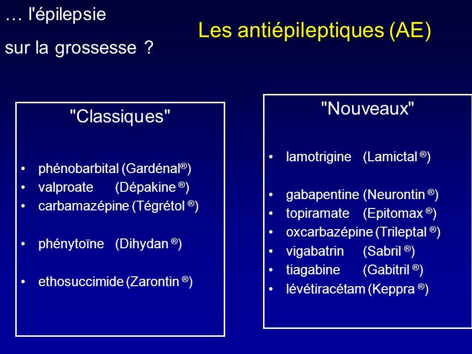 Les antiépileptiques (AE)