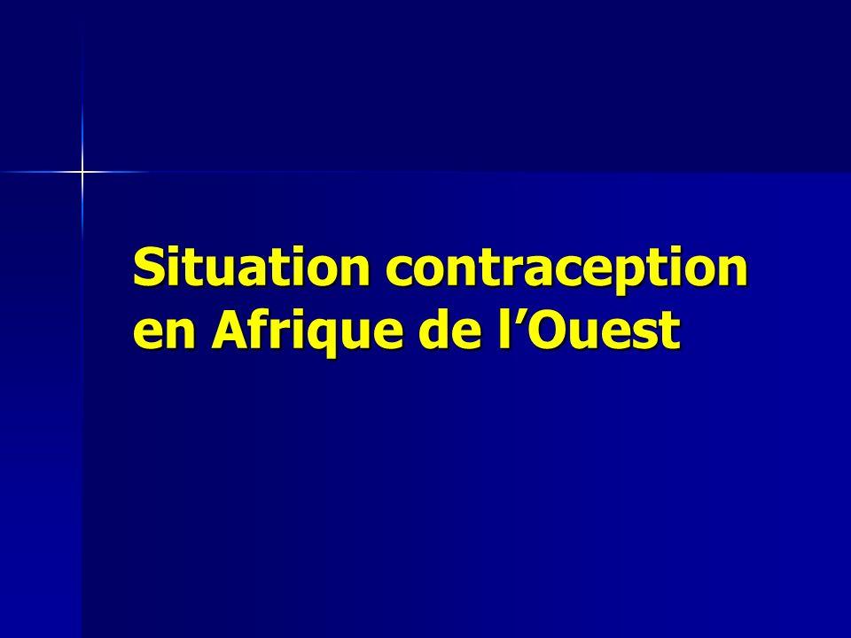Taux Fertilité Afrique Ouest