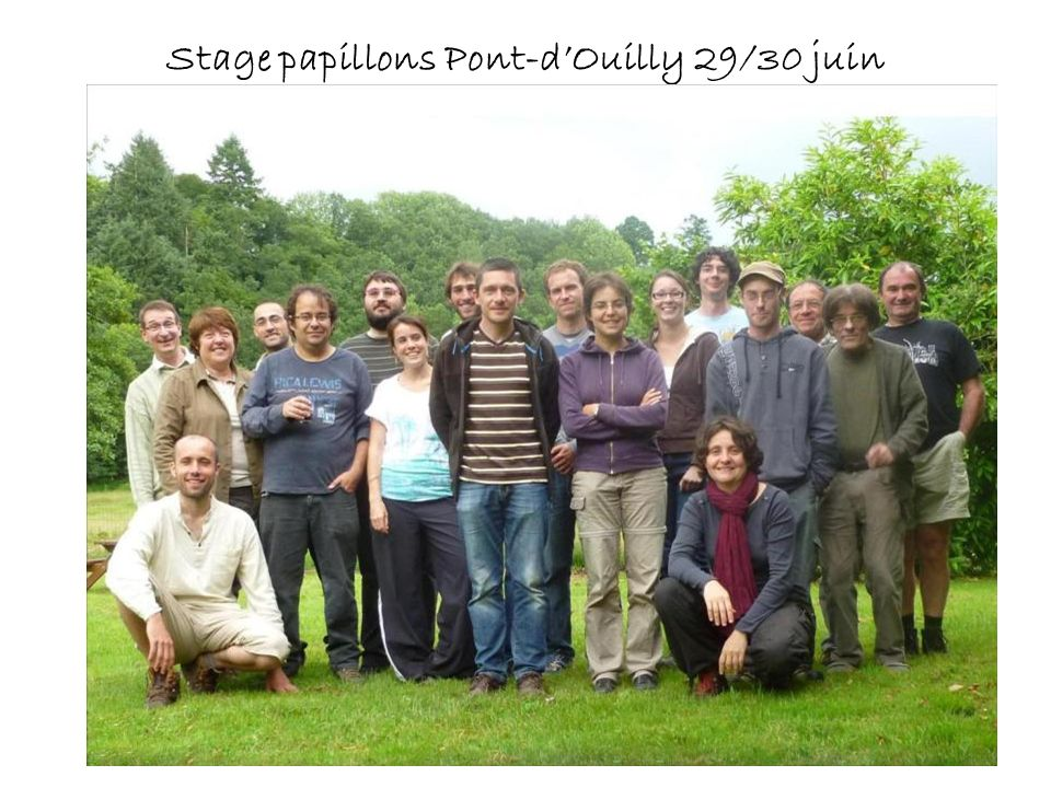 Stage papillons Pont-dOuilly 29/30 juin