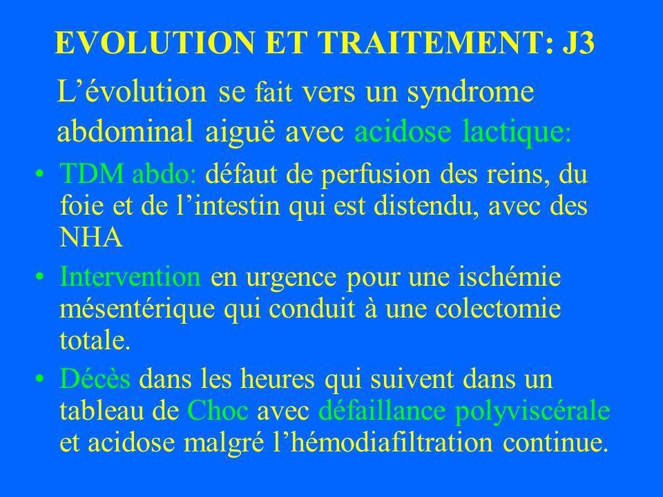 Exanguino-transfusion (2 MS) Evolution de la parasitémie après